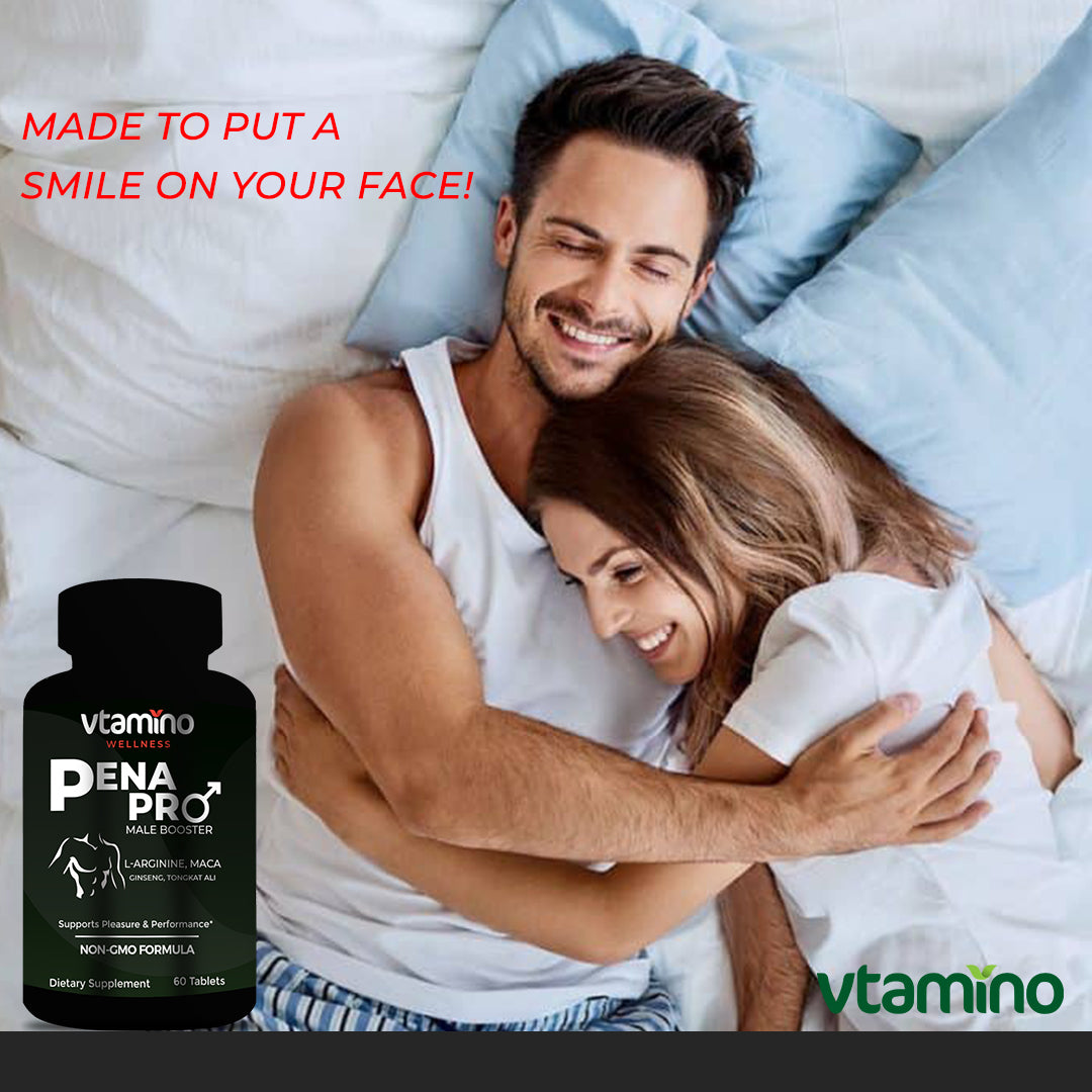 Vtamino Penapro-Natural Formula To Enhance Male Sexual Performance (30 Days Supply)