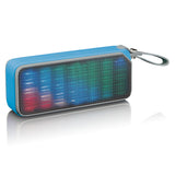 Lenco BT-191BU- Bluetooth speaker spatwaterdicht met party lights - Blauw