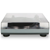 Lenco L-3808 Matt Grey - Direct aangedreven Platenspeler met USB/PC encoding - Mat grijs