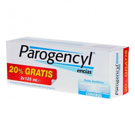 PAROGENCYL CONTROL PASTA DENTAL 125ml DUPLO