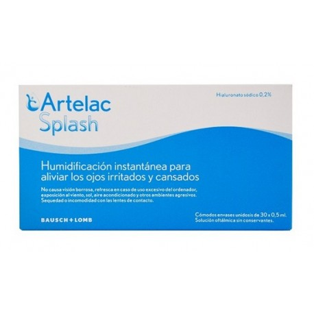 ARTELAC SPLASH 0.5ml 30 MONODOSIS