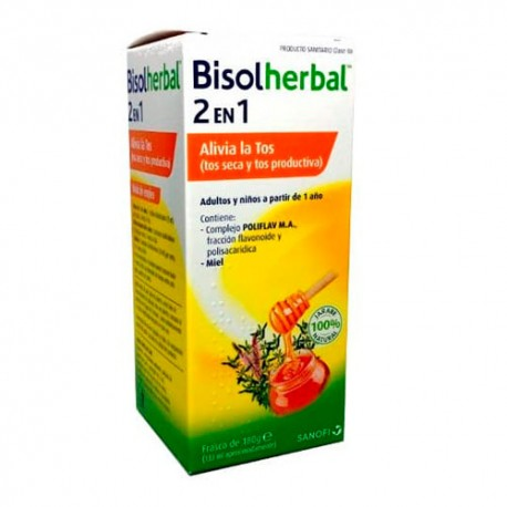 BISOLHERBAL 2 EN 1 JARABE 133ml
