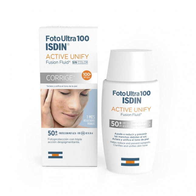 ISDIN FOTOULTRA 100 ACTIVE UNIFY FUSION FLUID SPF 50+ 50ml
