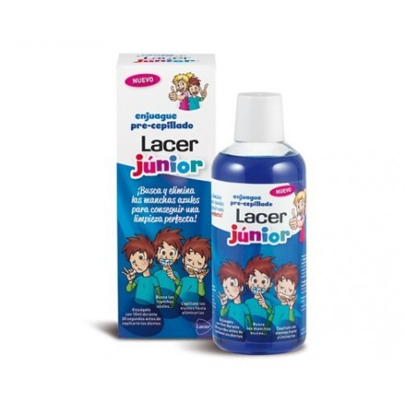 LACER JUNIOR ENJUAGUE PRE CEPILLADO 500ml