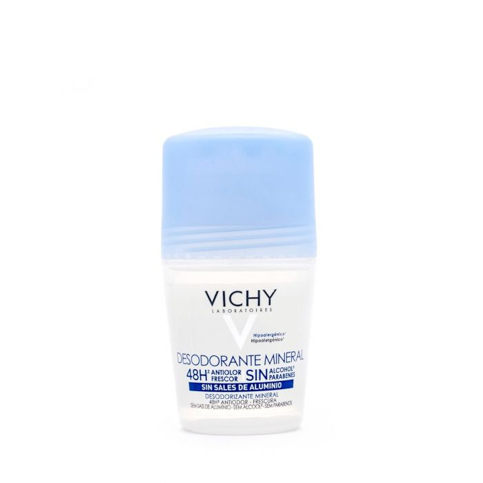 VICHY DESODORANTE ROLL ON MINERAL HIPOALERGENICO 50ml