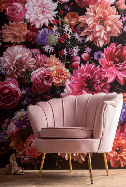 Water Lily Rose Armchair