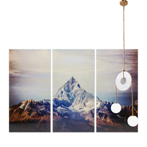 Picture Glass The HIMALAYAS Set of 3