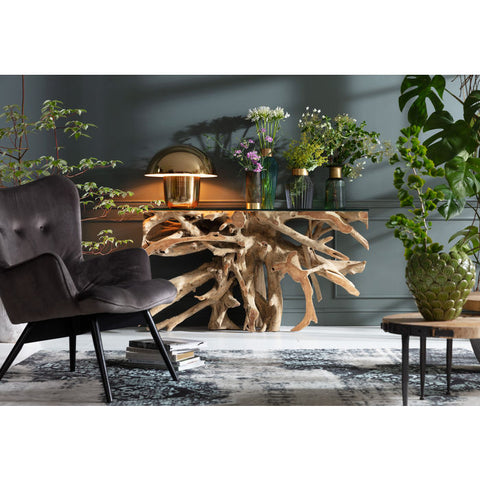 Roots Console Table