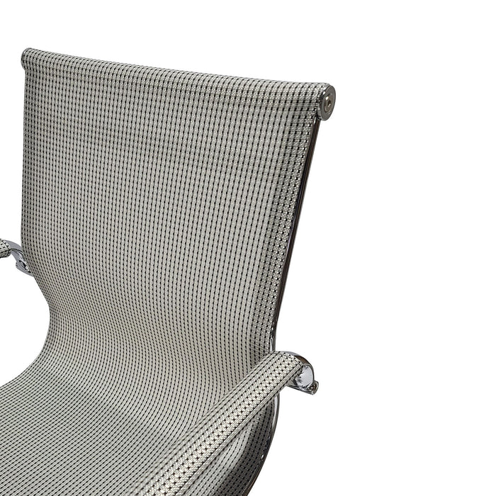 Desk Chair Mesh Black & White
