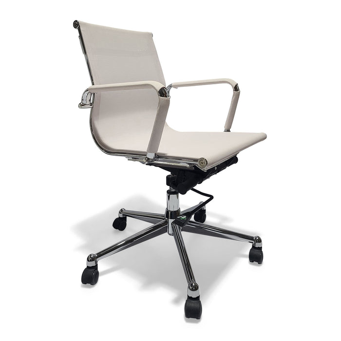 Desk Chair Mesh White