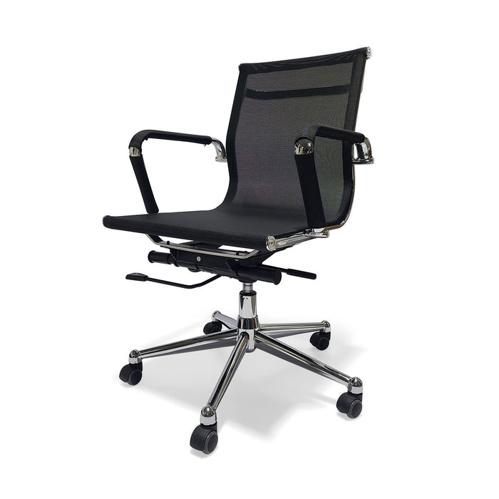Desk Chair Mesh Black