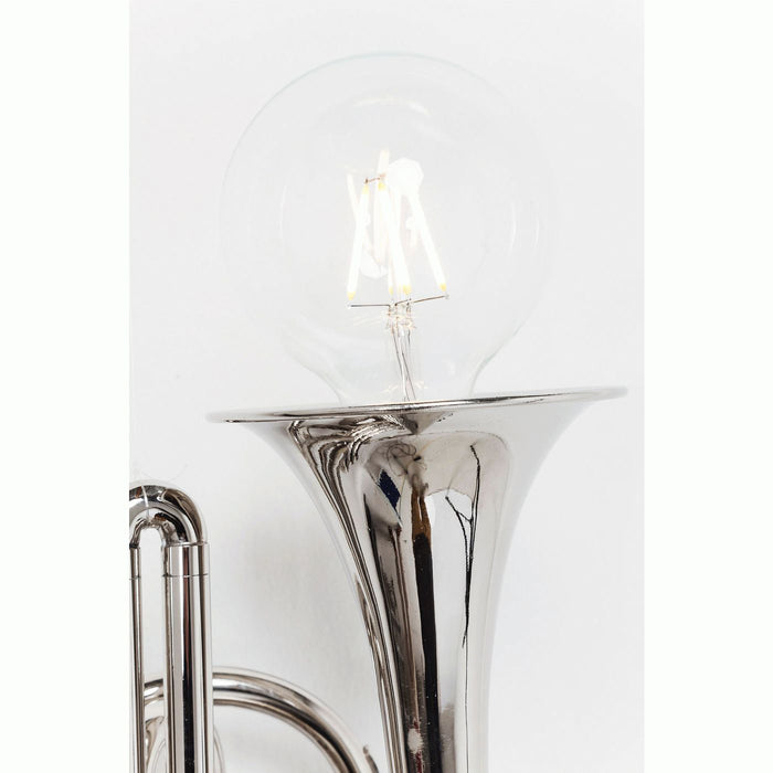 Wall Lamp TRUMPET Jazz SILVER