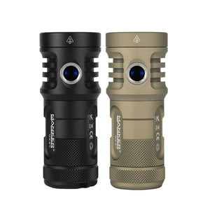 Manker MK37 5,800 Lumens Flashlight with Luminus SBT90.2 Emitter (BATTERIES NOT INCLUDED)