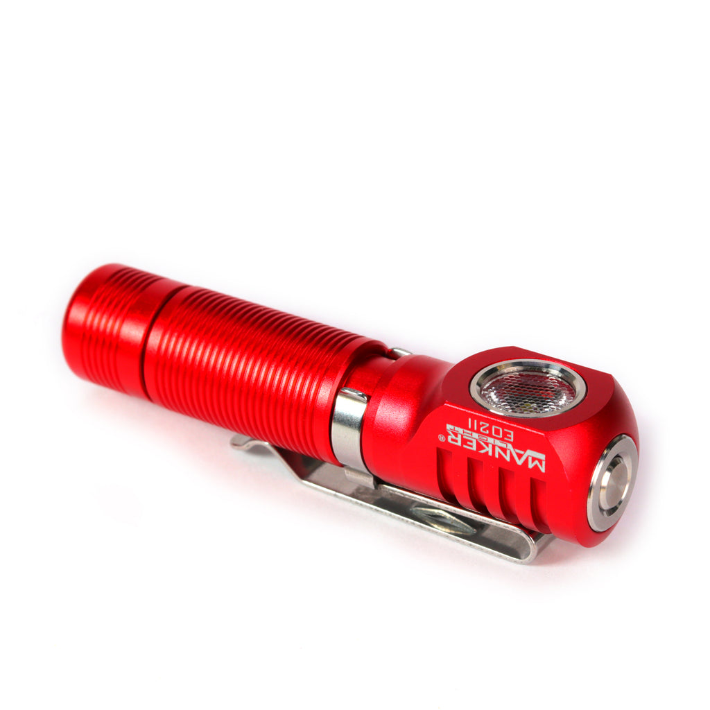 Manker E02 II 420 Lumens EDC Flashlight with Luminus SST20 LED Emitter (BATTERIES NOT INCLUDED)