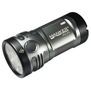 Manker MK36 12,000 Lumens CREE XHP50.2 3V  / LUMINUS SST-40-W LED Flashlight (BATTERIES NOT INCLUDED)