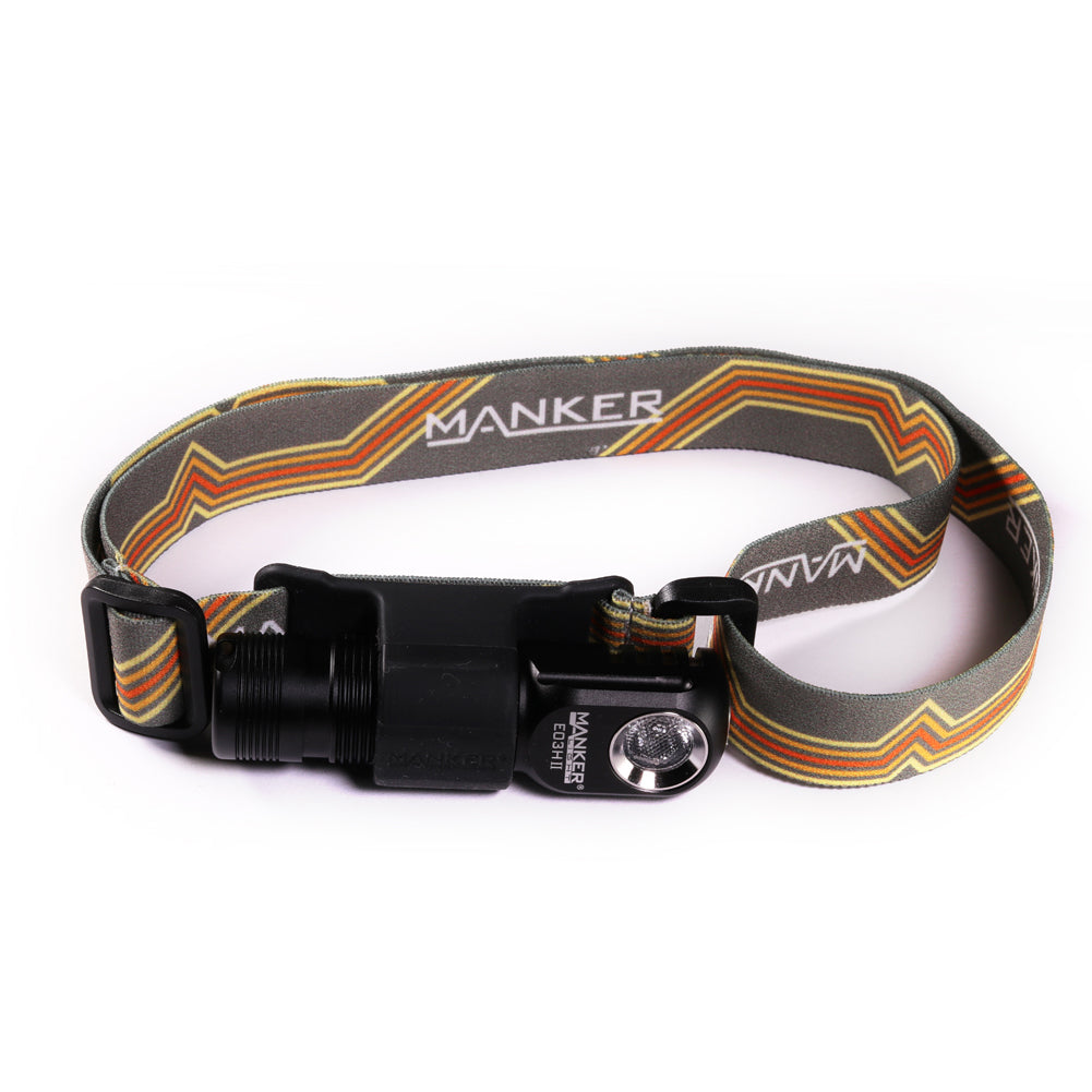 Manker E03H II 14500 / AA Headlamp 600 lumen Angle Flashlight with Headband, Removable Filters, and Reversible Clip (BATTERIES NOT INCLUDED)