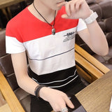men t shirt casual short sleeve