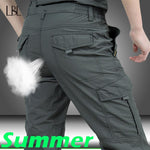 Tactical Pants Men Summer Casual Army Military Style Trousers