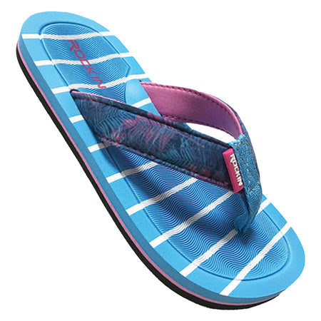 Kids Candy Stripes Flip Flops