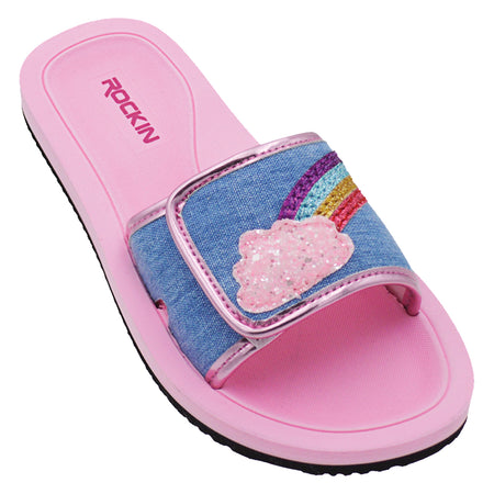 Kids Rainbow Cloud Slides