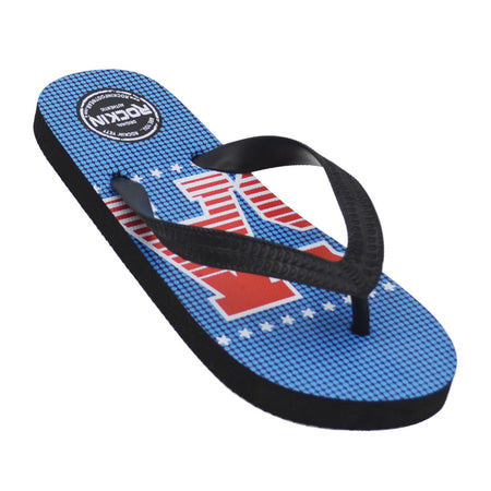 Kids Retro USA Flip Flops