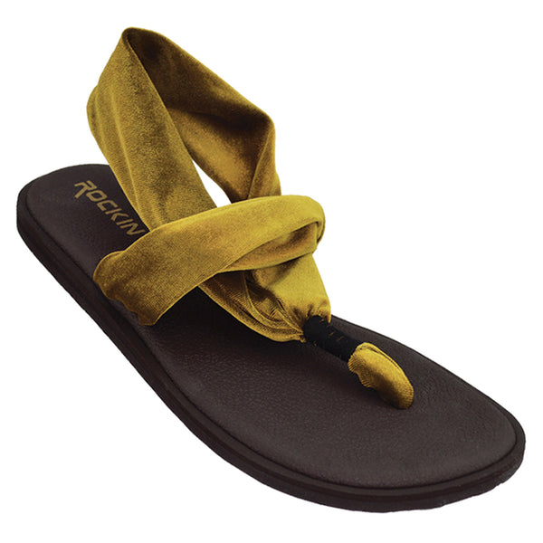 Women's Velvetine Yoga Sandals