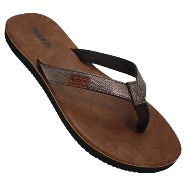 Women's Elite Metallic Flip Flops