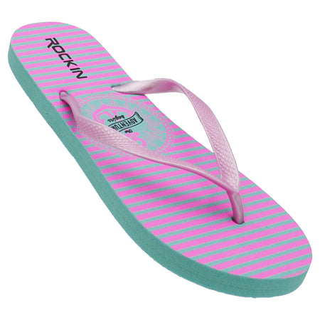 Women's Adventure Stripe Flip Flops
