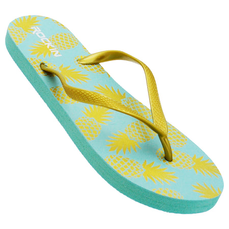 Women's Pineapples Flip Flops