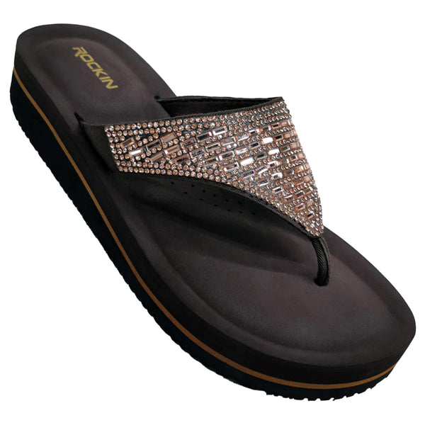 Women's Crystal Wedges