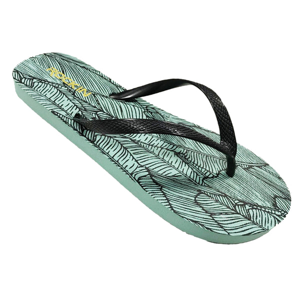 Women's Banana Leaves Flip Flops