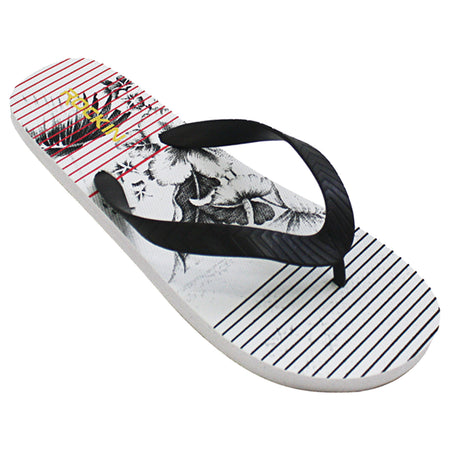 Men's ORCHID STRIPE flip flops