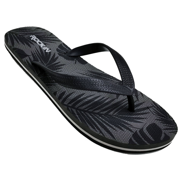 Men's PALMS (Gray) Flip Flops