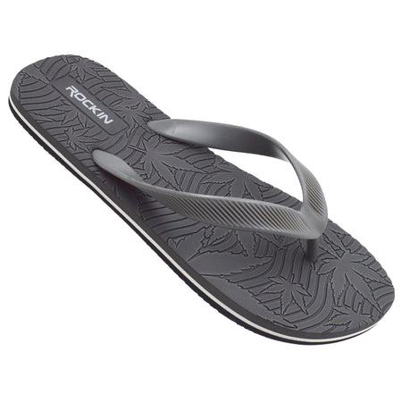 Men's MARY JANES (Gray) Flip Flops