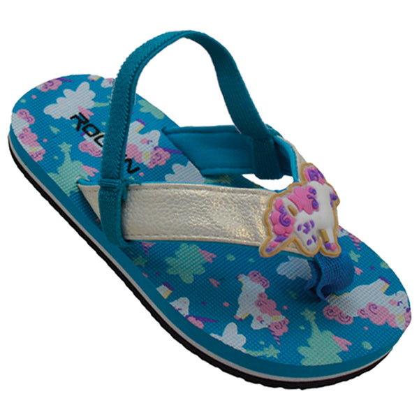 Unicorns Toddler Flip Flops