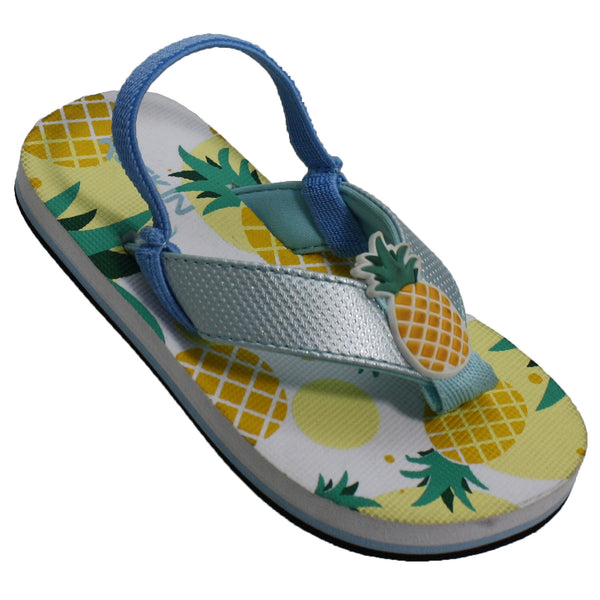 Pineapples Toddler Flip Flops
