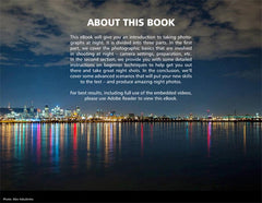 Night Photography Book About Page