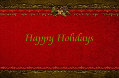 Happy Holidays Slideshow Template