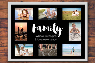 Family Photo Collage Templates