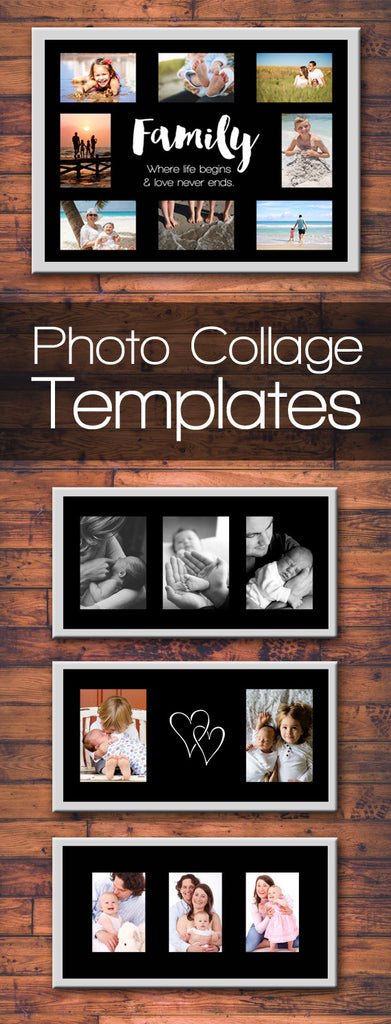 family photo collage templates discovery center store