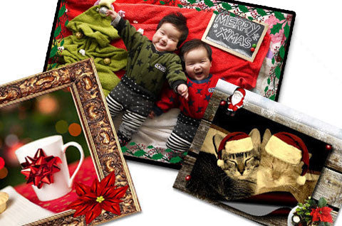 Holiday Picture Frames Collection