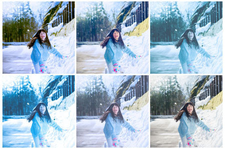 Winter Preset Pack for AfterShot Pro 3