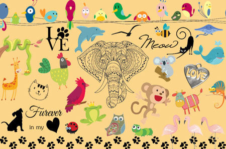 Animals Clipart (150+ pieces)
