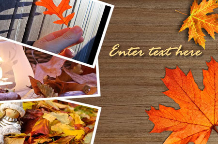 Autumn Leaves Slideshow Template