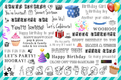 Birthday Clipart (65 pcs.)