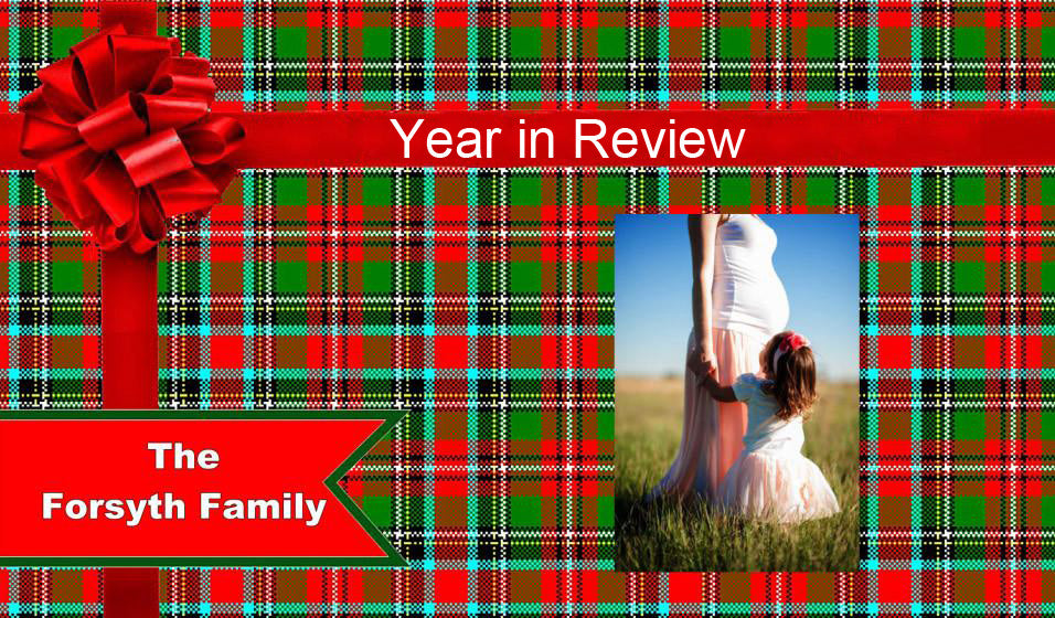 Year In Review Slideshow Template