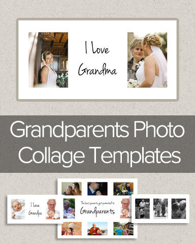 Grandparents Photo Collage Templates
