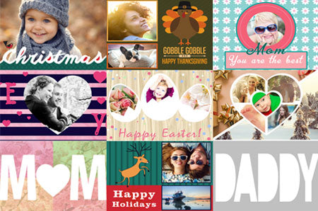 Holiday Mixed Templates Bundle