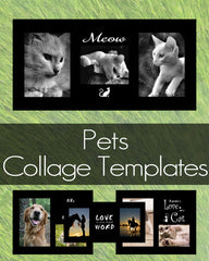 Pets Collage Templates