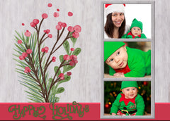 Rustic Holiday Photo Frames